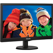 "Монитор 19.5"" Philips 203V5LSB26/10/62, черный"