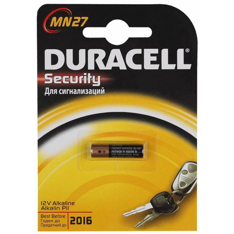 Батарейка Duracell Security 12 V  MN27 (1шт)