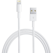 Кабель для iPhone5/iPhone6/ to USB  Lightning Cable (CC-USB-AP2MWP) 1м, белый,  Gembird