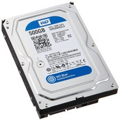 Жесткий диск HDD Western Digital WD Blue WD5000AZLX 500 Гб