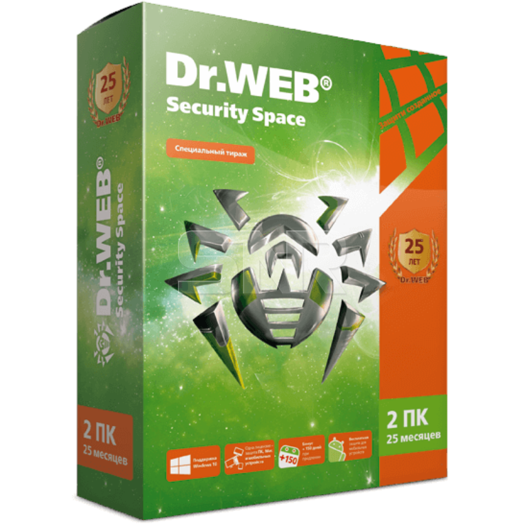 Антивирус Dr.Web Security Space КЗ