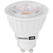 Лампа Canyon LED GU10.  4,8(35)Вт, 4000К,  (7WMRGU105W230VN60)