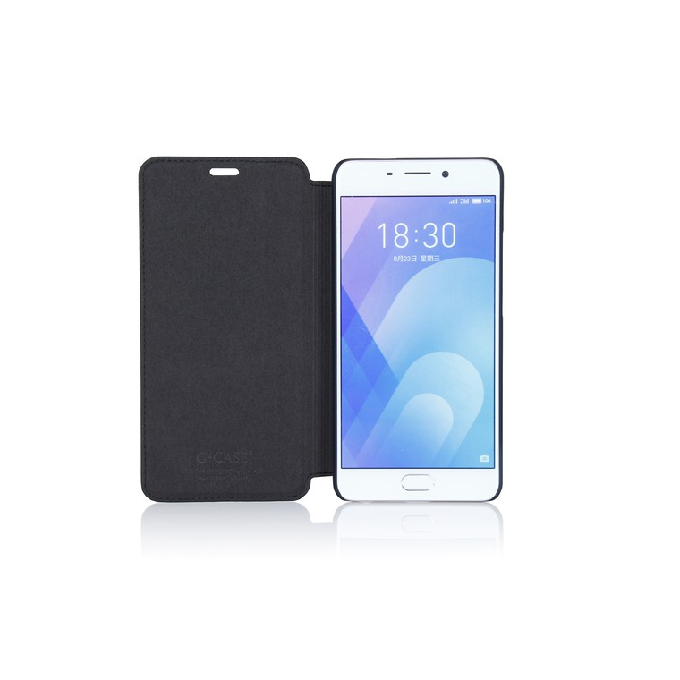 Чехол-книжка для Meizu M6 Note G-Case Slim Premium черный GG-919
