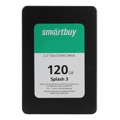 Накопитель SSD Smart Buy Splash 3 120 GB SATA-III 7mm Marvell 3D TLC (SB120GB-SPLH3-25SAT3)