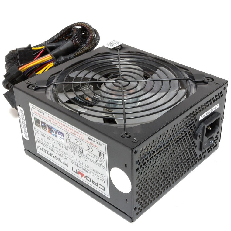 Блок питания Crown CM-PS650W PLUS 650 Вт