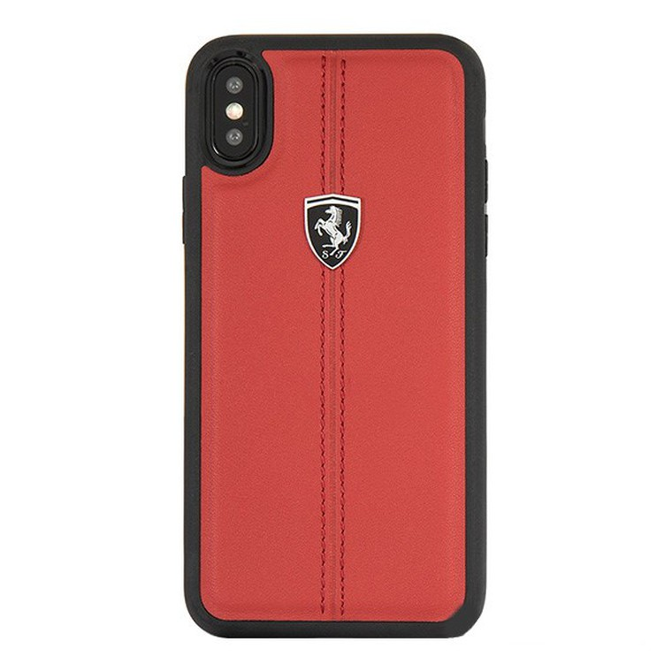 Чехол(накладка) для iPhone XS Max Heritage W Hard Leather Red FEHDEHCI65RE