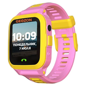 Смарт часы GEOZON Active (G-W03PNK), розовый