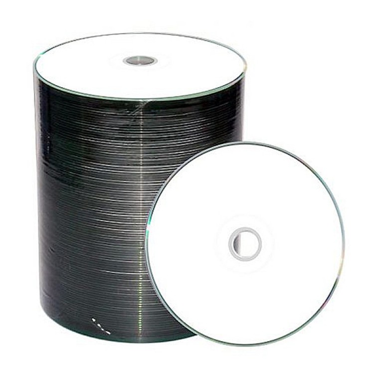 "Диск CD-R Mirex ""WHITE"" 700MB, 52x, КОМПЛЕКТ 100шт, BULK-спайка (UL120037A8T, UL120207A8T) {1/5}"