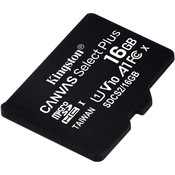 Карта памяти MicroSD 16Гб Kingston Canvas Select Plus (SDCS2)