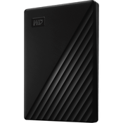 "HDD внешний 2000Гб USB 3.0 2.5"" Western Digital Passport WDBYVG0020BBK-WESN черный"