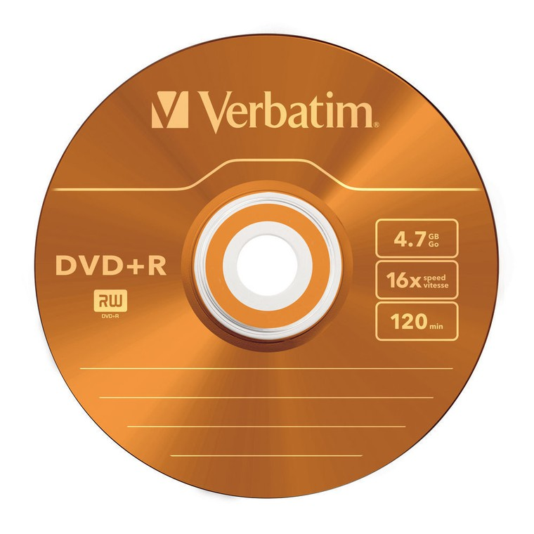 "Диск DVD+R Verbatim ""Colours"" 4,7GB, 16x, КОМПЛЕКТ  5шт, SLIM-футляр (43556) {1/20}"