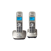 Телефон PANASONIC KX-TG2512RUN, DECT (платиновый)