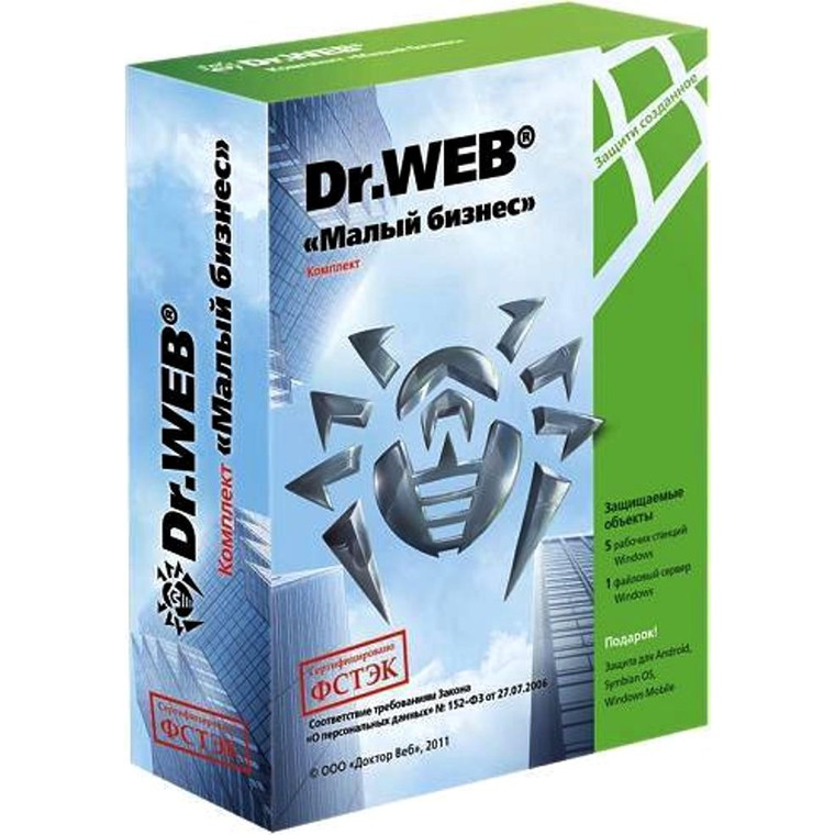 Антивирус Dr.Web Security Space PRO