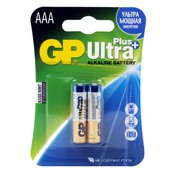 Батарейка GP 24AUP-2CR2 Ultra Plus AAA MN2400 (2шт) (LR03-2BL)