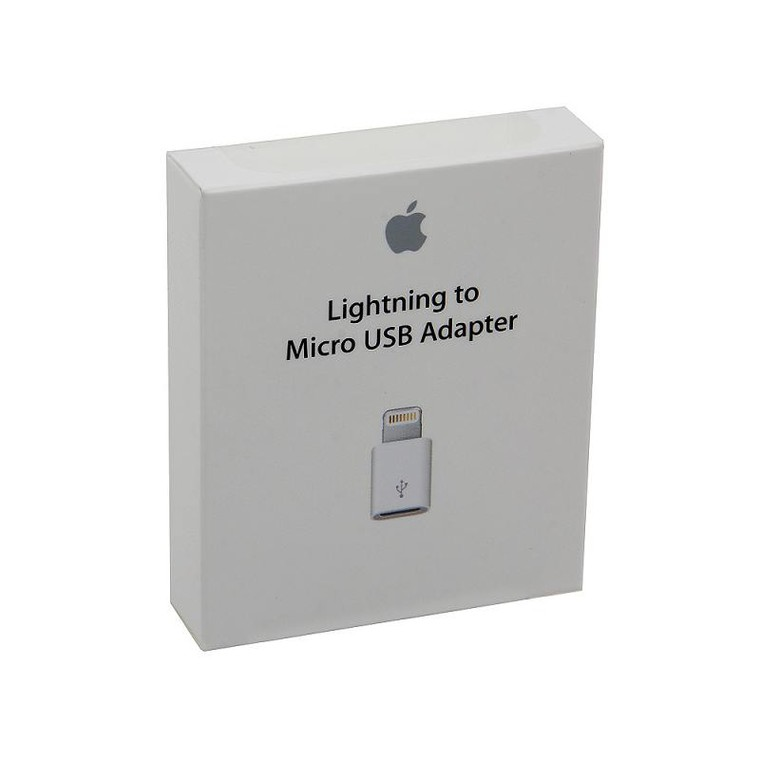 Адаптер Apple Lightning to MicroUSB (MD820ZM/A) Apple(M)=> USB for iPhone5/iPad4/iPad mini